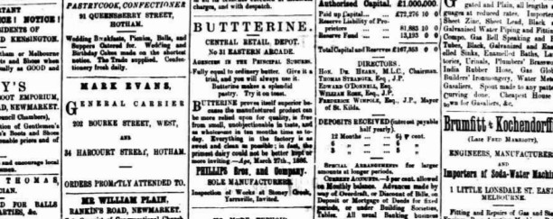 A bit about butterine